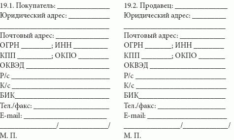 Договор сроки поставки образец приложения